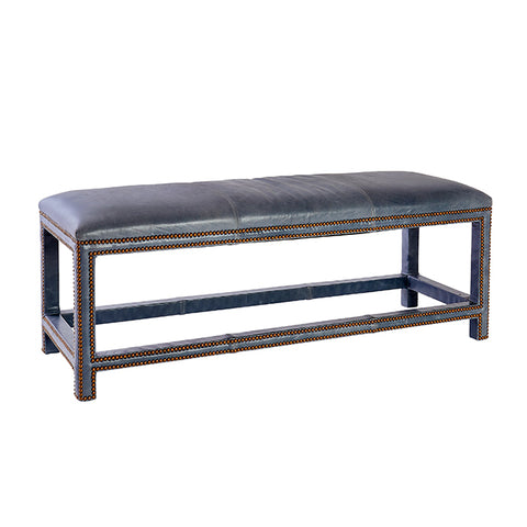 New! Anna Leather Bench