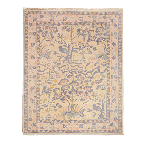 Aviary Rug in Blush