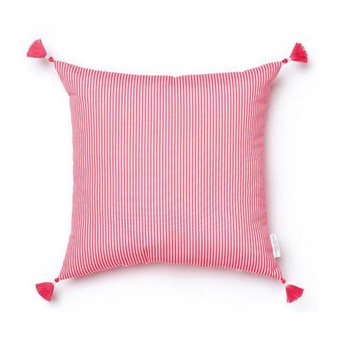Balo Stripe In Pink Sand Pillow INDOOR/OUTDOOR