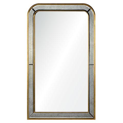 Louis Mirrored & Brass