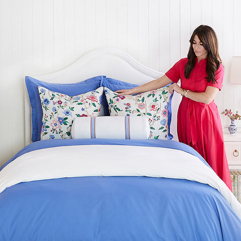 Perfect Percale Duvet in Bluebelle