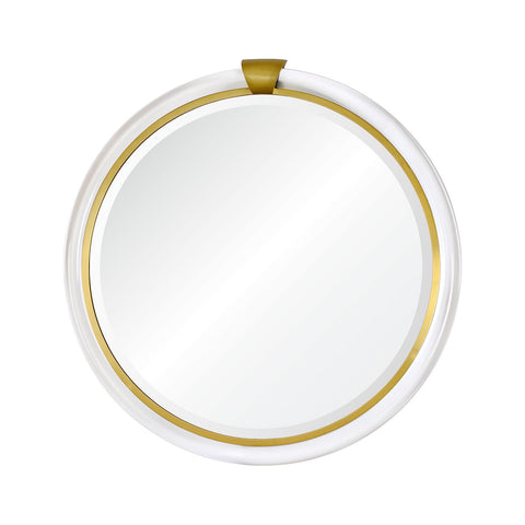 Bengal Mirror in Brass