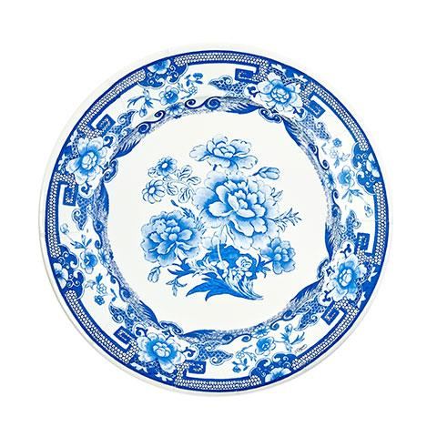 Chinoiserie Paper Dinner Plates