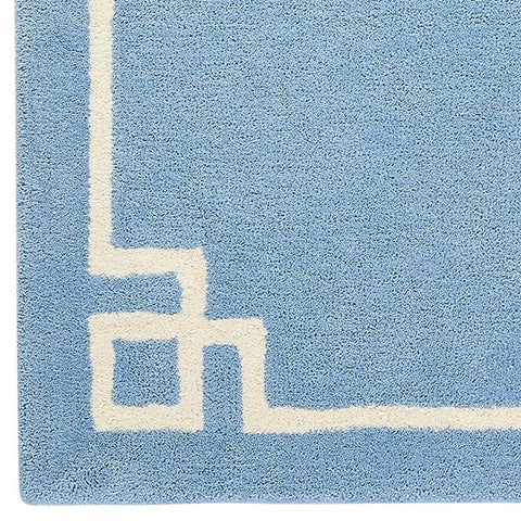 Deco in Soft Blue Rug Sample