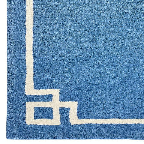 Deco in Bold Blue Rug Sample