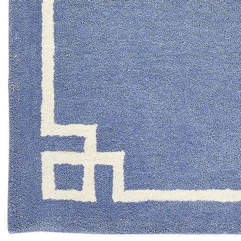 Deco in Periwinkle Rug Sample