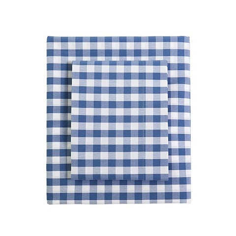 CAIT KIDS: Classic Gingham Duvet in French Blue