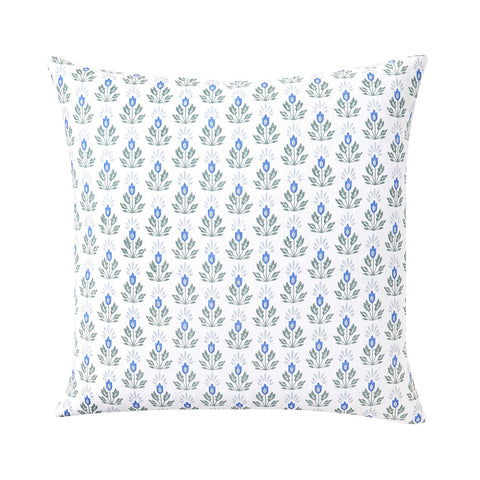 Blue Lotus Pillow