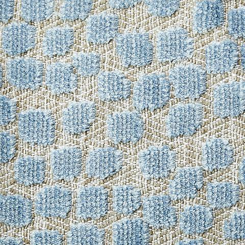 Blue Speck Fabric Swatch