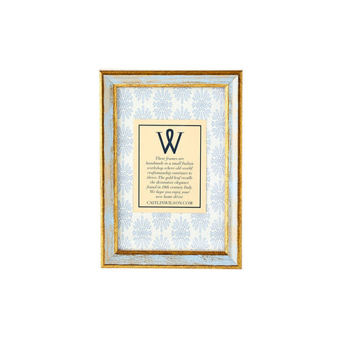 Blue & Gold Small Frame