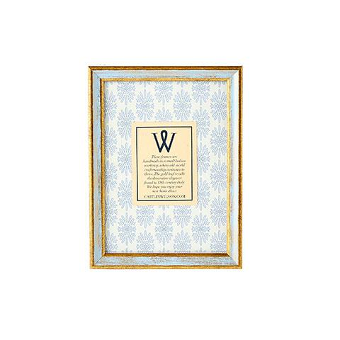 Blue & Gold Medium Frame