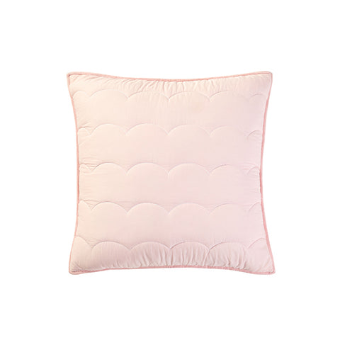 CAIT KIDS: Blush Scallop Sham