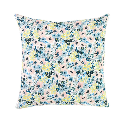 Brushstroke Floral Pillow