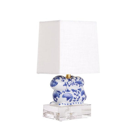 CAIT KIDS: Bunny Chinoiserie Lamp