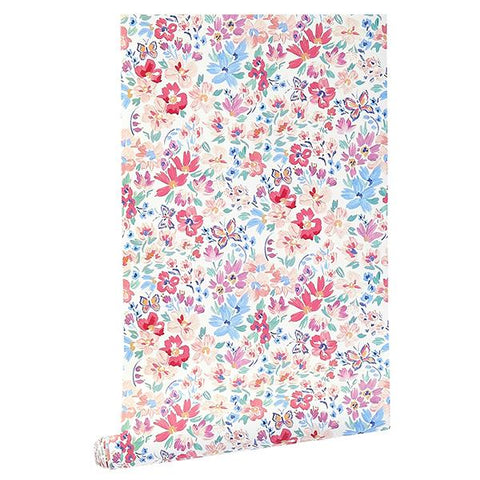 CAIT KIDS: Butterfly Garden Wallpaper