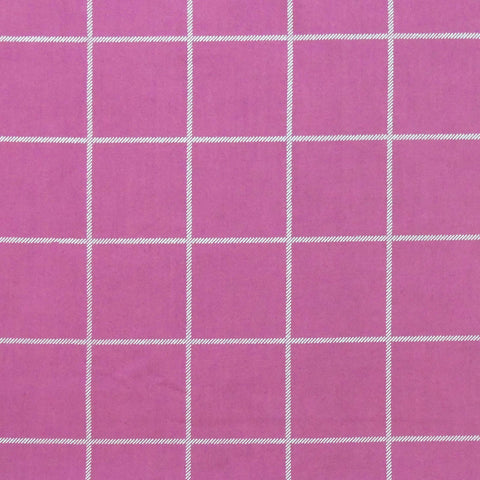 Berry Windowpane Swatch
