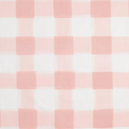 Blush Burnside Buffalo Check Fabric Caitlin Wilson