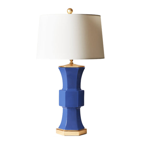 Sutton Lamp in Admiral Blue