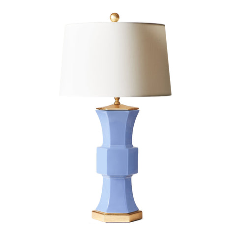 Sutton Lamp in French Blue