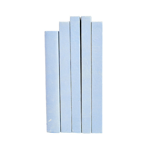 Large Decorative Book in French Blue