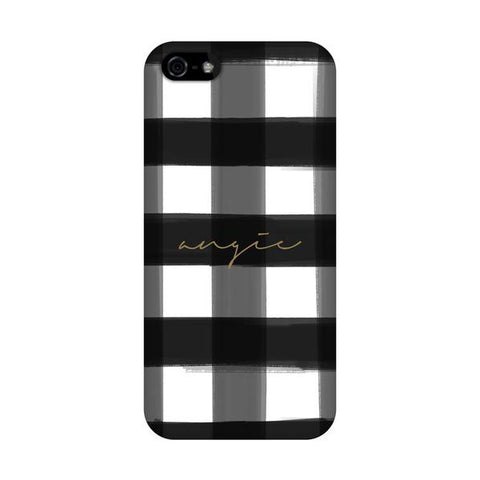 Black Buffalo Check Phone Cover