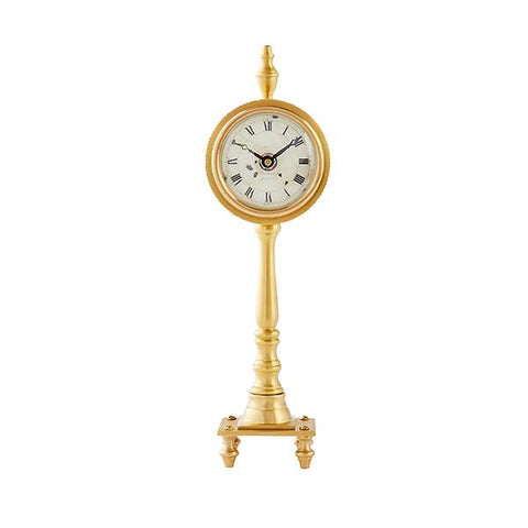 Candlestick Table Clock