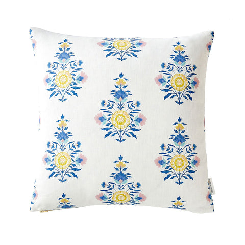 Celeste Block Print Pillow