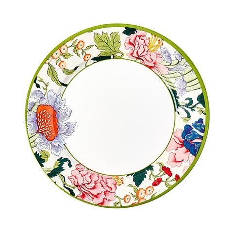 Chinese Floral Paper Dinner Plates