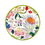 Chinese Floral Paper Salad Plates