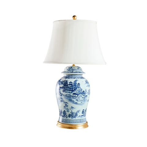 Chinoiserie Temple Jar Lamp