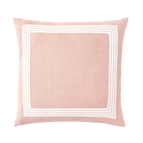 Classic Trim Pillow in Peach