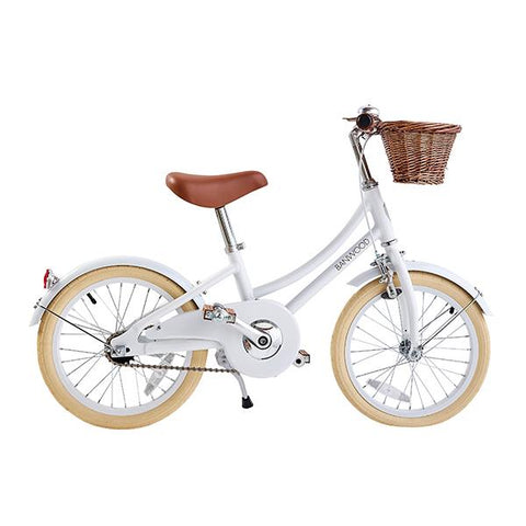 Classic White Bicycle