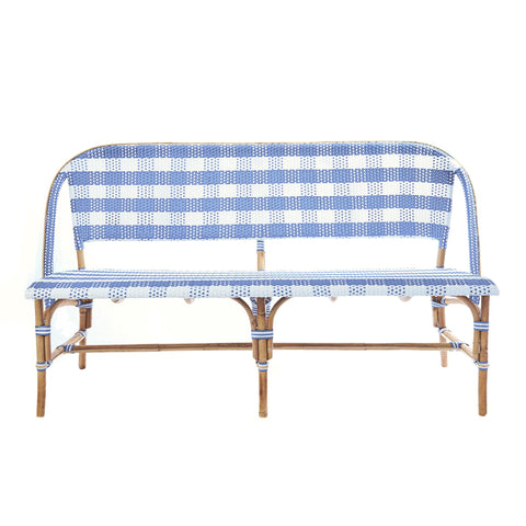 Paloma Bench In French Blue