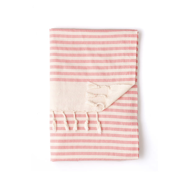 pink sand turkish towel