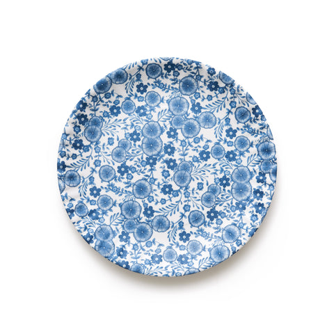 Mixed Floral Melamine Plate Set I