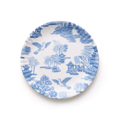 Mixed Floral Melamine Plate Set II