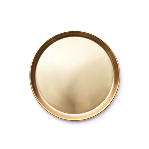 Small Brass Serving Tray