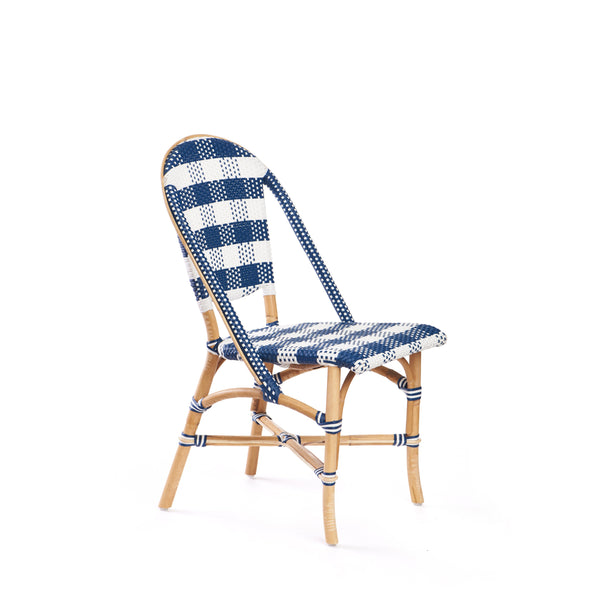 Astonishing Paloma Side Chair In Navy Inzonedesignstudio Interior Chair Design Inzonedesignstudiocom