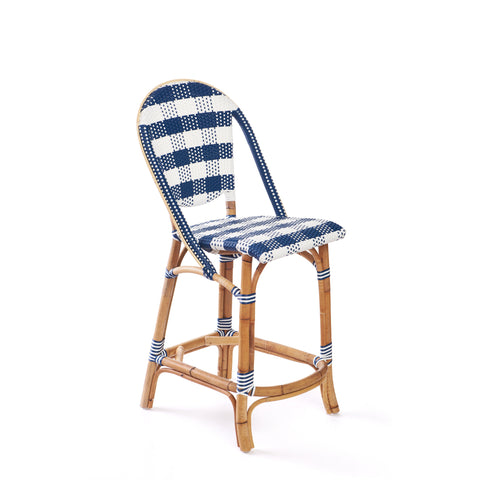 Paloma Counter Stool in Navy