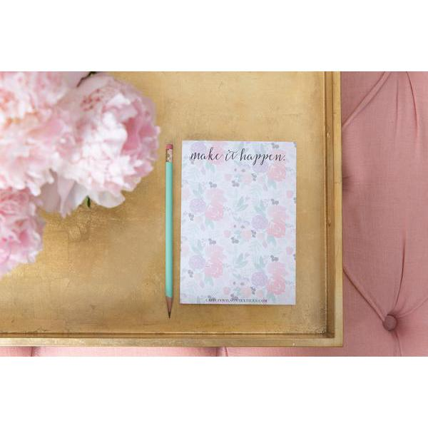 make it happen small notepad