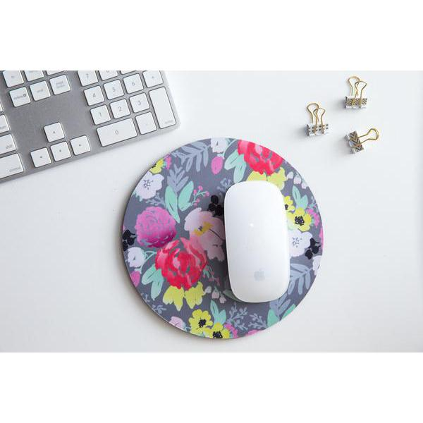 Bridge City Blooms in Grey Mousepad