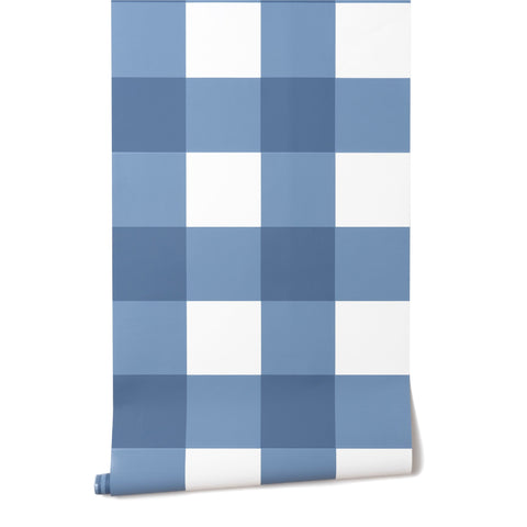 Grande Check in French Blue