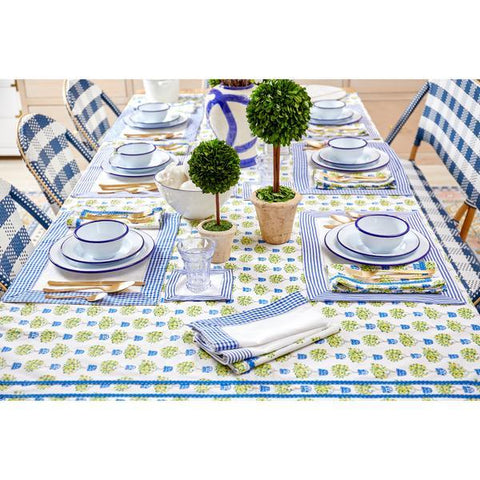 Lemon Topiary Tablecloth - Rectangle