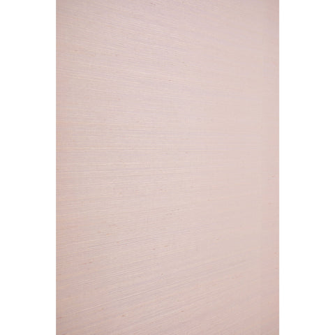 Grasscloth Wallpaper in Pale Rose