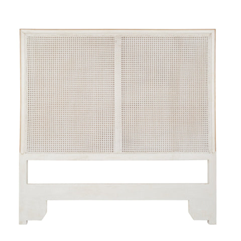 Cane-Back Headboard