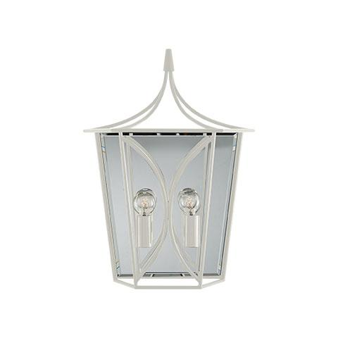 Cavanagh Medium Lantern Sconce in Light Cream