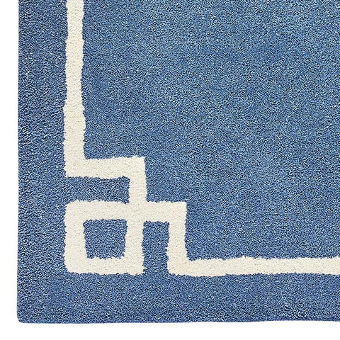 Deco in  French Blue Rug Sample