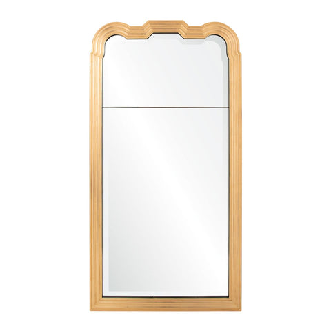 Estelle Mirror in Brass