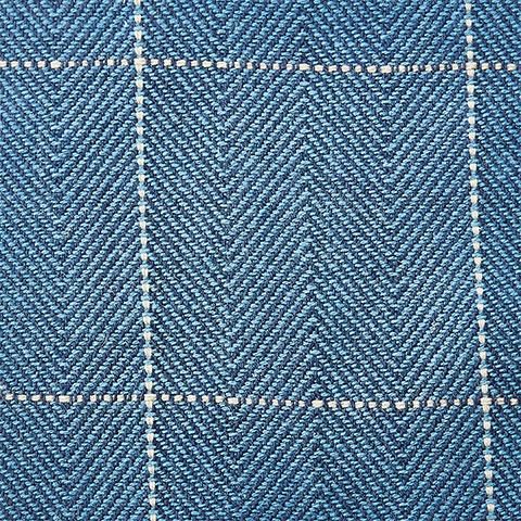Dunthorpe Navy Fabric Swatch