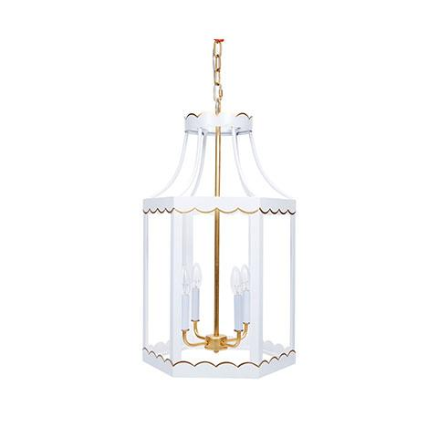Cece Scalloped Lantern